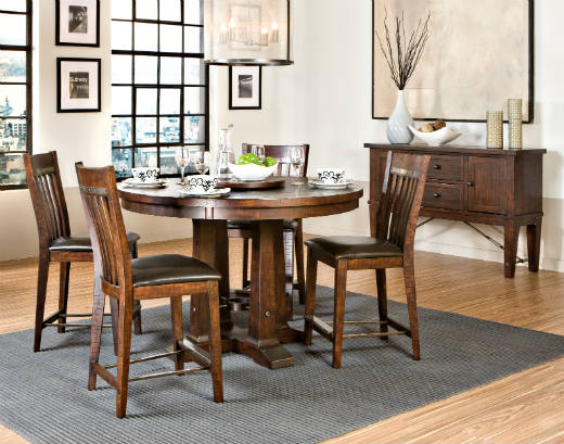 Hayden Gathering Dining Table by Intercon