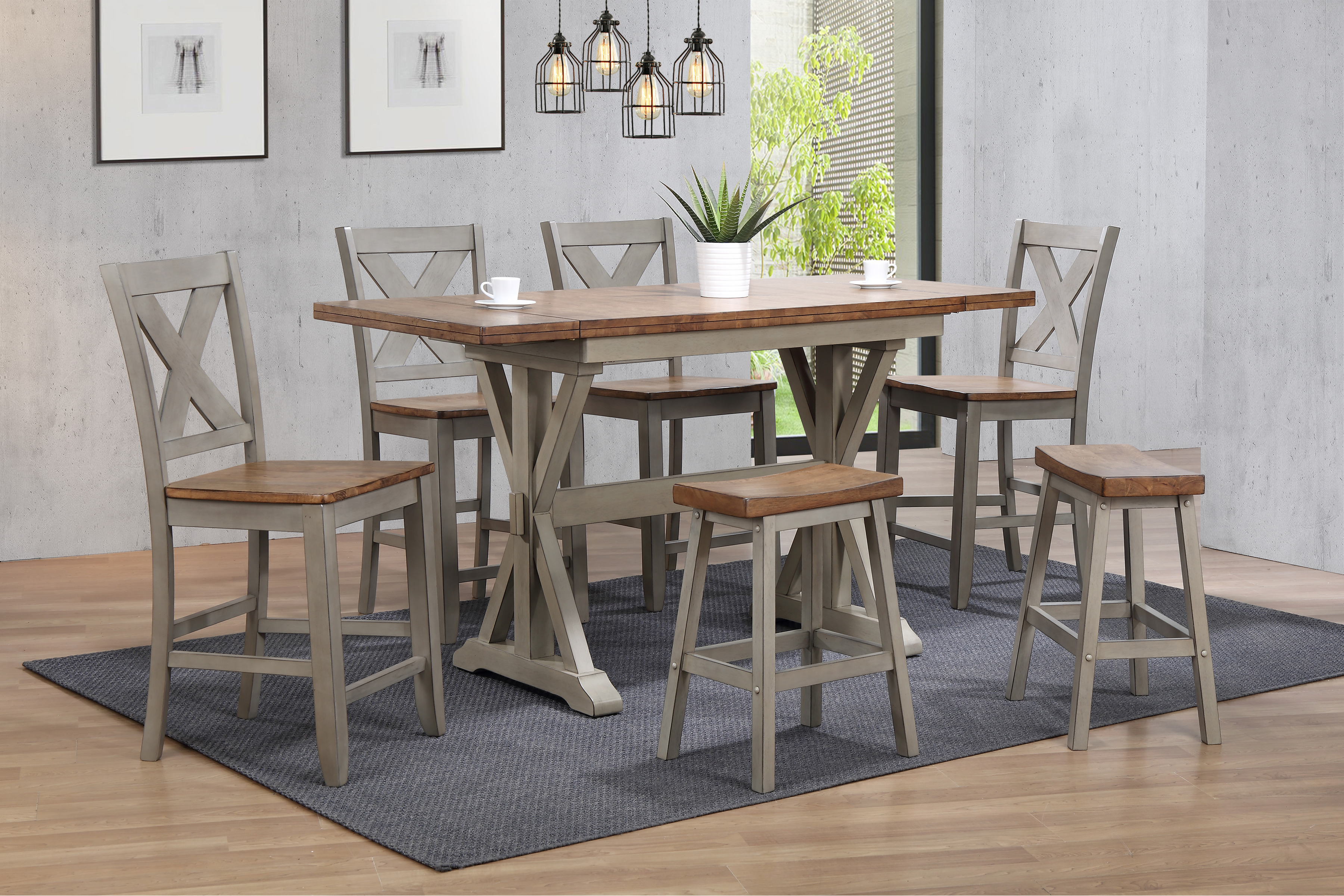 Barnwell Pub Dining Set by Winners Only 02