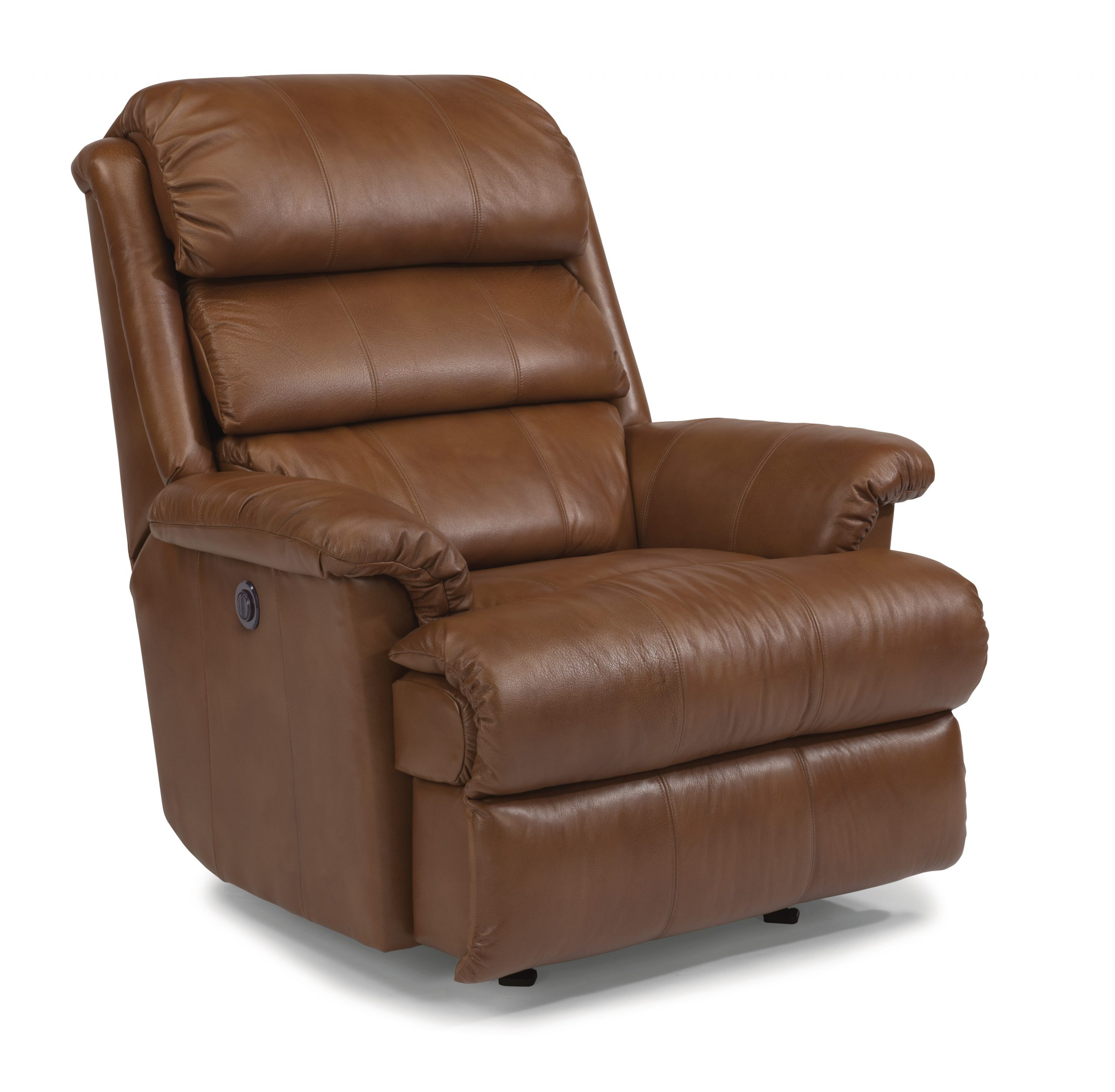 Flexsteel Yukon Big and Tall Leather Power Recliner (Recliners)