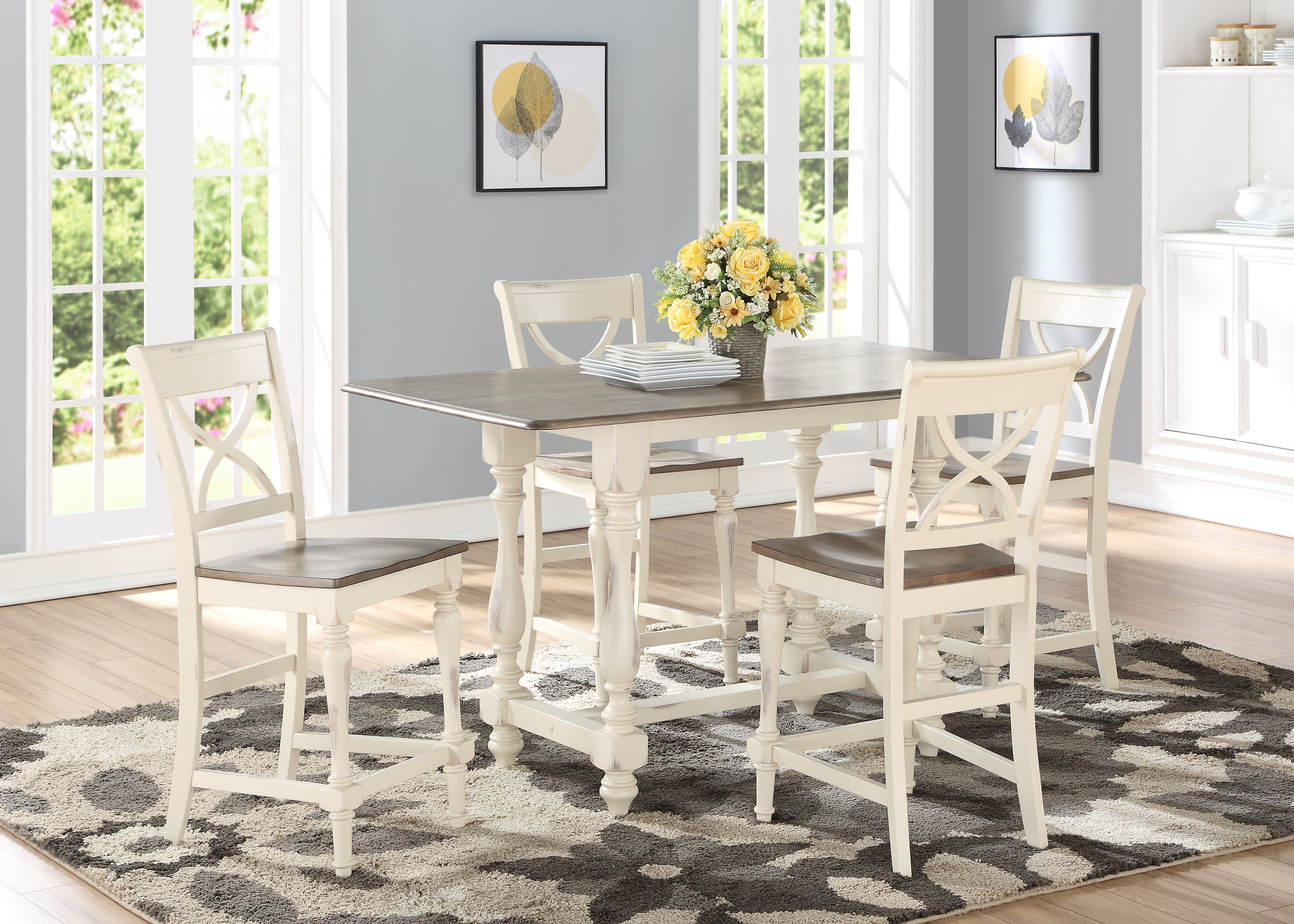 Torrance Pub Dining Set by Winners Only 04