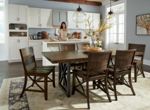 Carpenter Dining Set by Wynwood