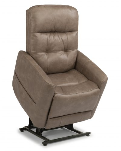 Flexsteel Kenner 374-82 Lift Recliner with Headrest and Lumbar