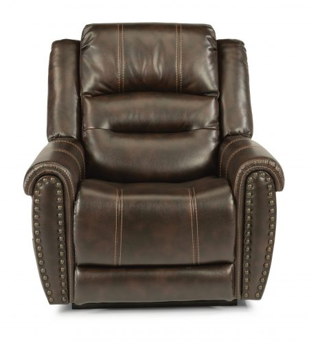 Flexsteel Oscar (Lift Recliner) comes in leather or fabric #1 best seller