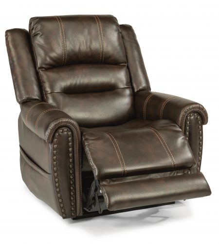 Flexsteel Oscar (fabric) 629-70 Lift Recliner with Headrest and Lumbar