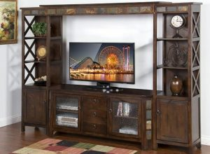 Santa Fe Wall Unit Entertainment Center